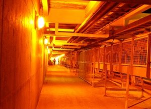 mining underground personnel